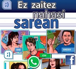 """Comic """"no te enredes"""" en euskera con sortzen consultoria de igualdad de genero"""